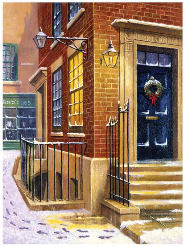 Royal & Langnickel Картина по номерам Улица в снегу ...