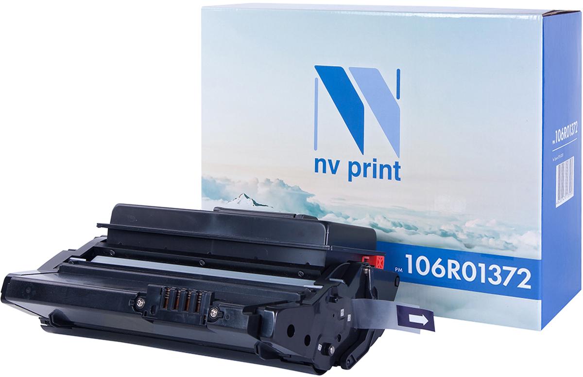 Картридж NV Print 106R01372, черный, для лазерного принтера