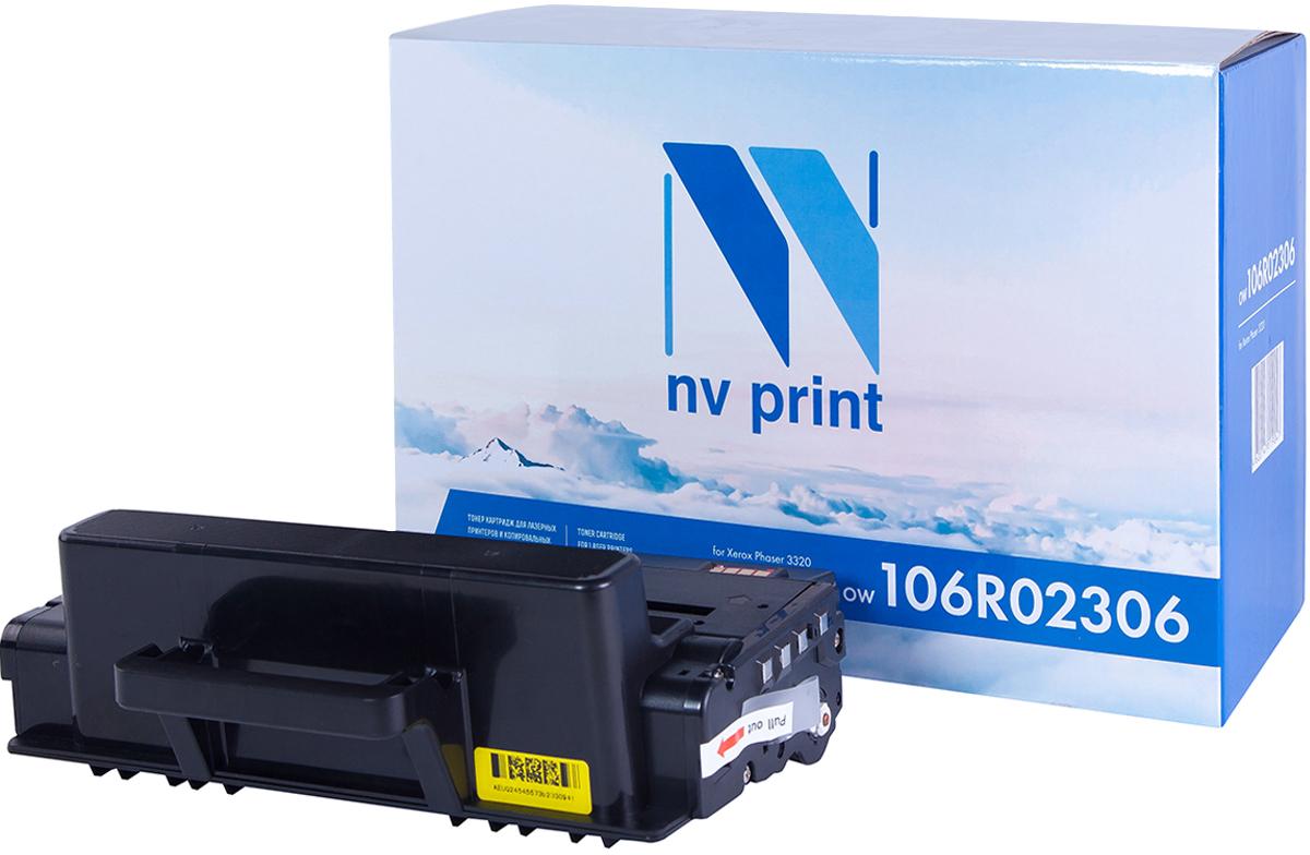 Картридж NV Print 106R02306, черный, для лазерного принтера