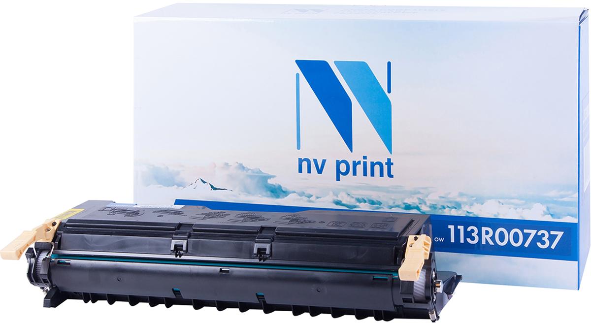 Картридж NV Print 113R00737, черный, для лазерного принтера