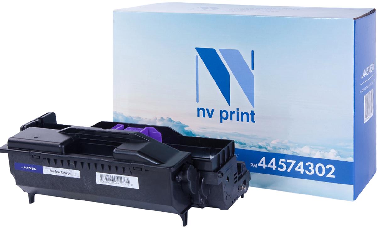 NV Print 44574302, Black фотобарабан для Oki B411/B431/MB461/471/497