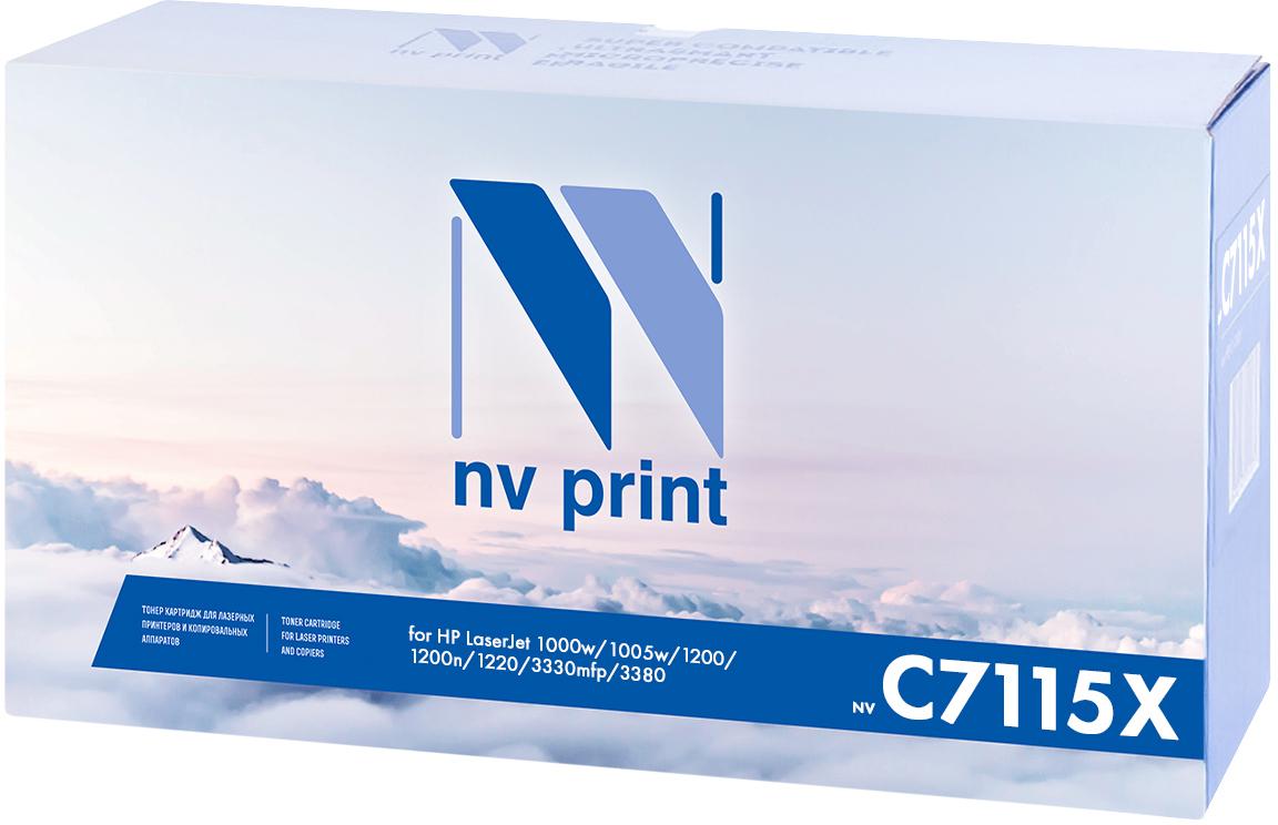 Картридж NV Print C7115X, черный, для лазерного принтера