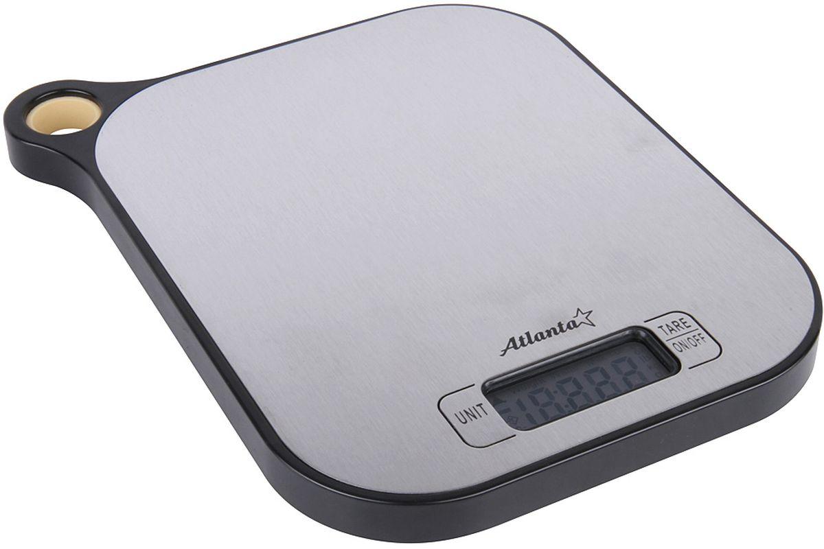 Кухонные весы Atlanta ATH-6208, BlackATH-6208 blackКухонные электронные весы Atlanta ATH-6208 - незаменимые помощники современной хозяйки. Они помогут точно взвесить любые продукты и ингредиенты. Кроме того, позволят людям, соблюдающим диету, контролировать количество съедаемой пищи и размеры порций. Предназначены для взвешивания продуктов с точностью измерения 1 грамм. Размер дисплея: 4,58 см х 1,7 см Функция обнуления веса