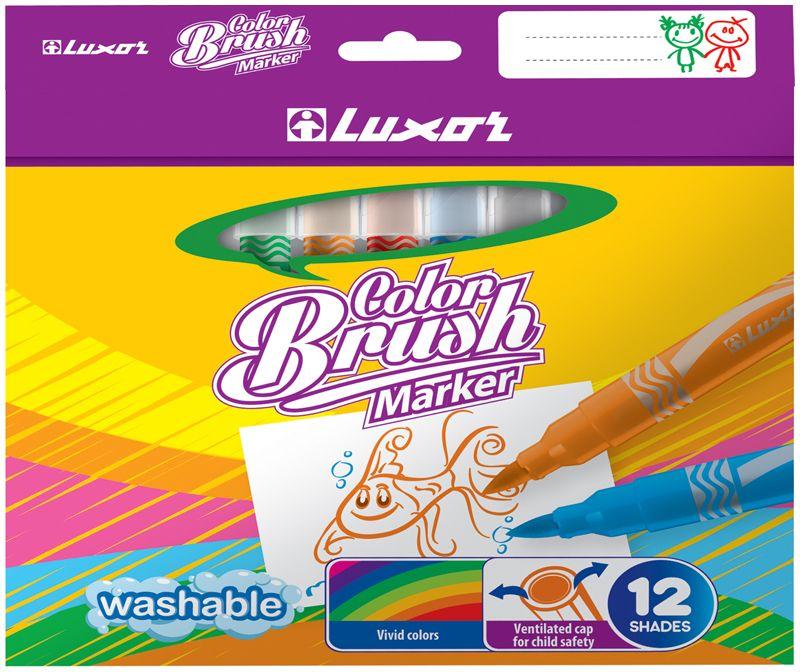 Набор фломастеров Color Brush 12 цветов