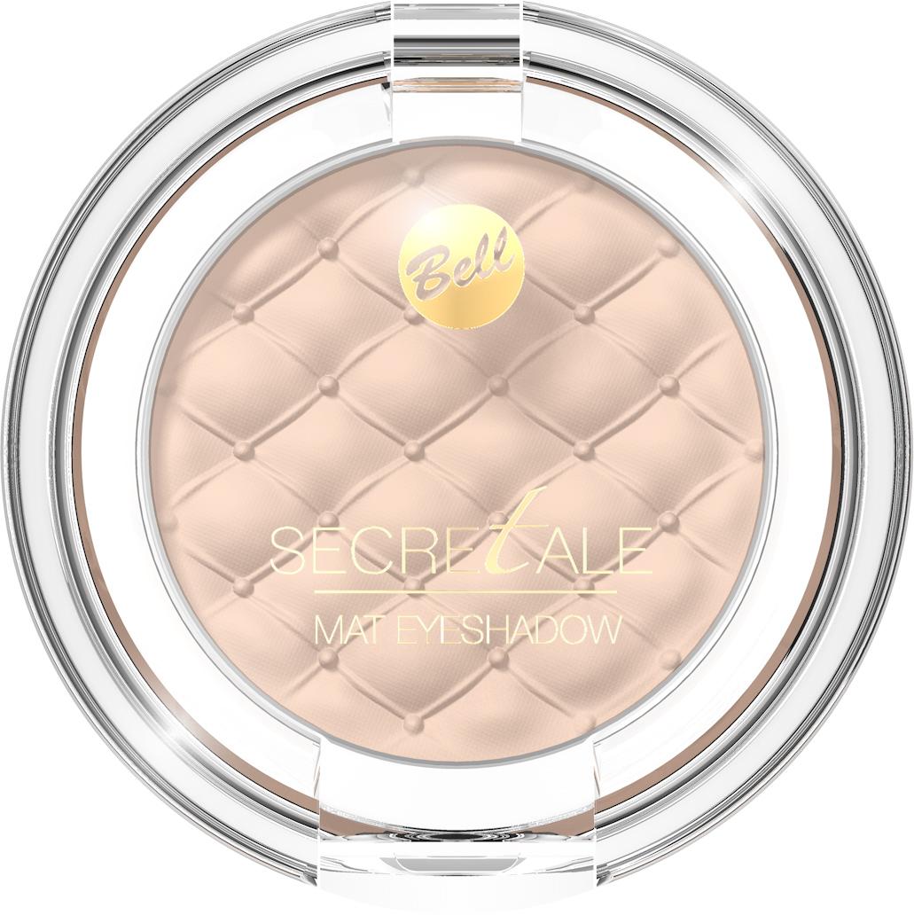 Bell Тени Для Век Матовые Secretale Mat Eyeshadow Тон 01 цены онлайн