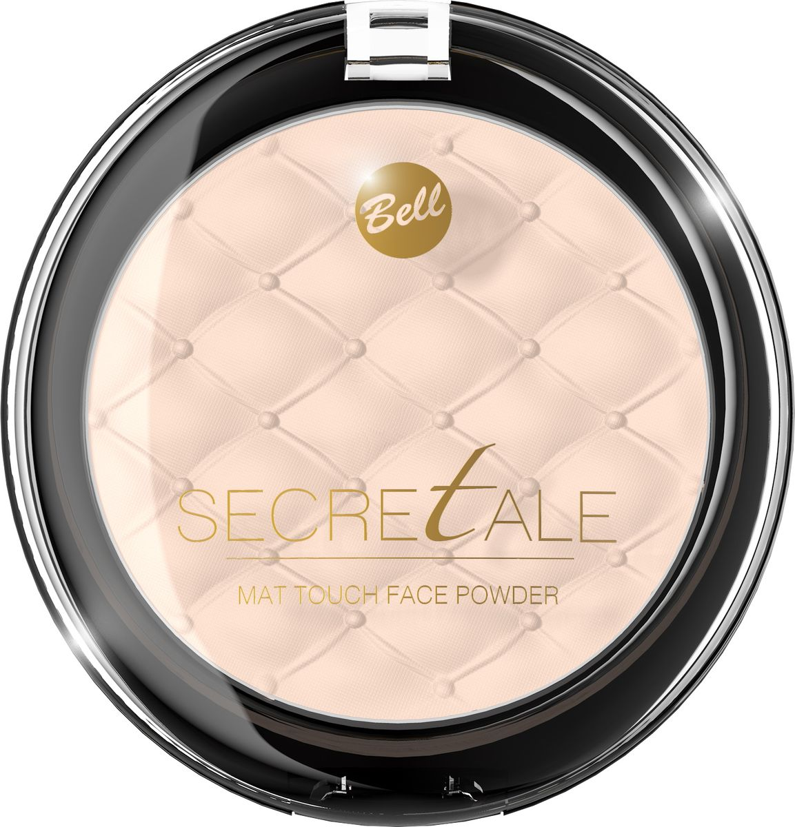 Bell Пудра Матирующая Фиксирующая Макияж Secretale Mat Touch Face Powder Тон 02