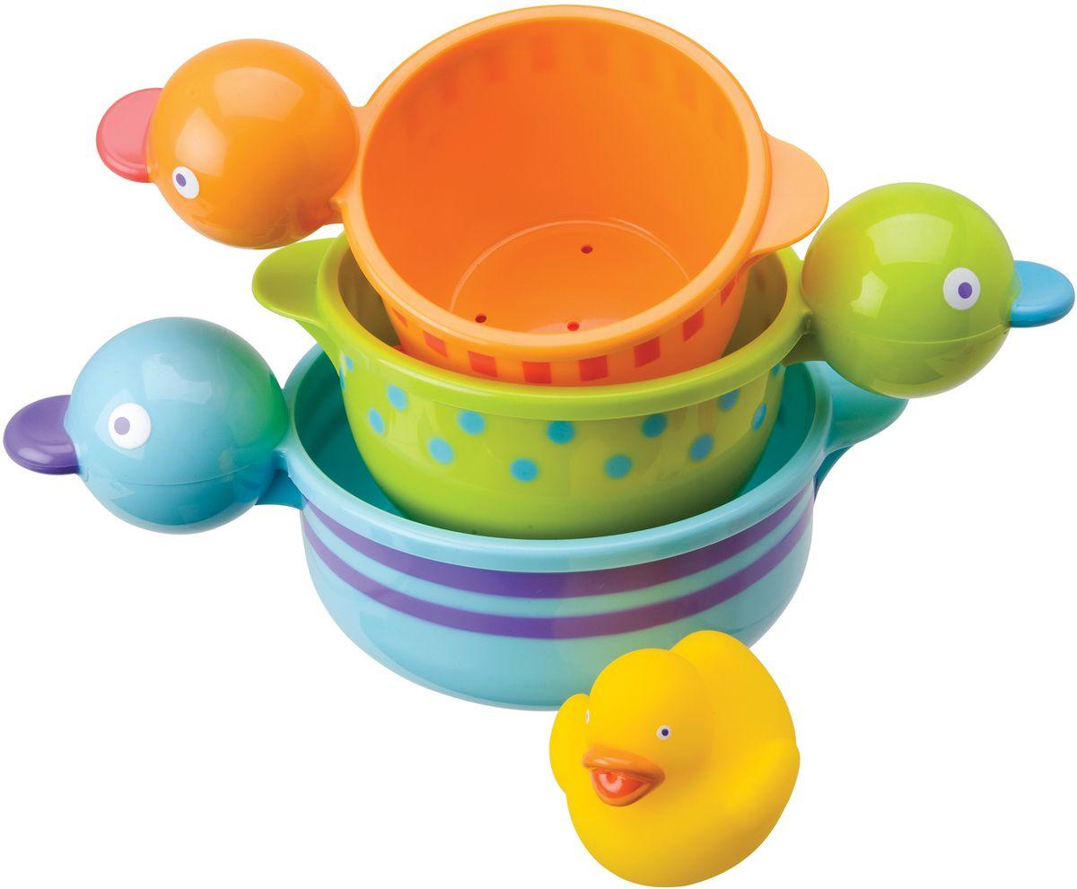 Alex Набор игрушек для ванной Чашки-уточки 3 шт набор игрушек для ванны alex сад 700gn