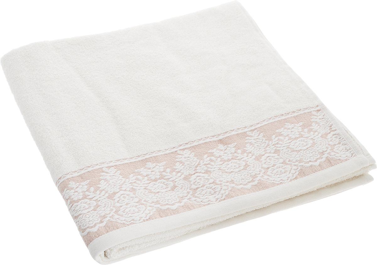 Полотенце Brielle Garden, цвет: кремовый, мокко, 70 х 140 см полотенце brielle garden pink 70x140 розовый 1204 85303