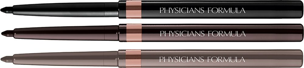Physicians Formula Карандаши для век набор Shimmer Strips Custom Eye Enhancing Eyeliner Trio-Nude Eyes тон шампань олово черный 0.85 г