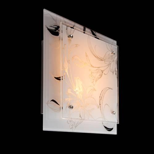 Настенный светильник Eurosvet 2729/2 хром светильник настенный colosseo ischia 10134 3 темное дерево хром e27 3х60w