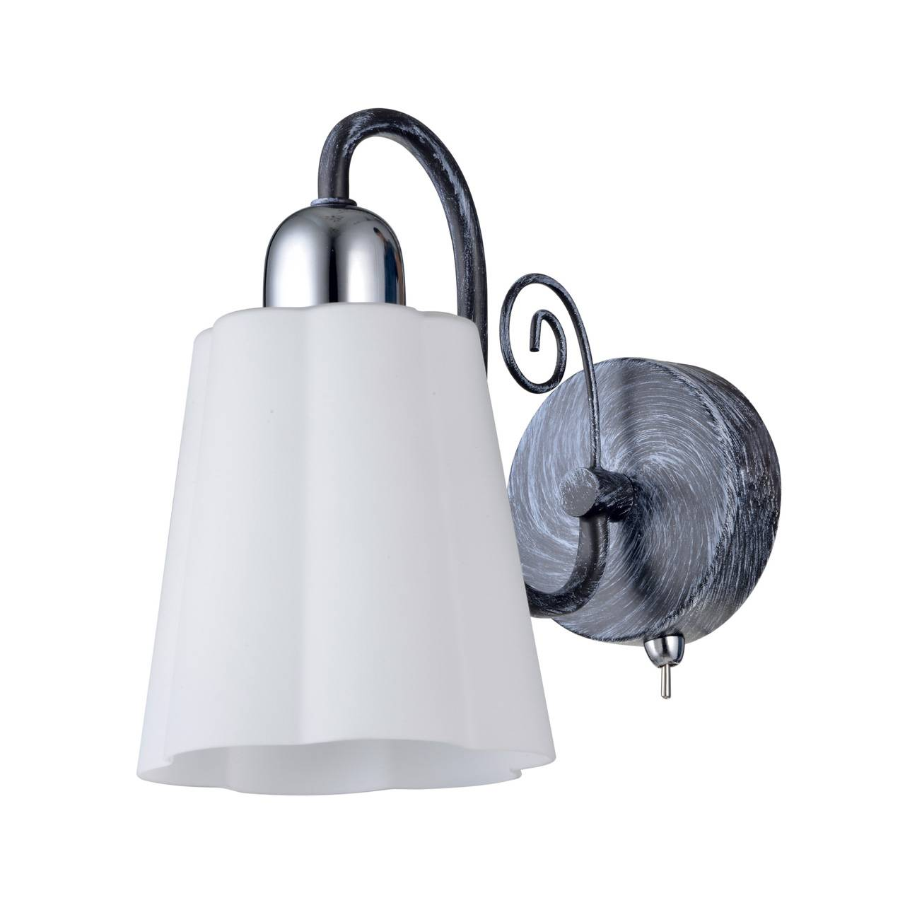 Бра IDLamp Rossella 847/1A-Blueglow бра idlamp 601 1a moondarkchrome