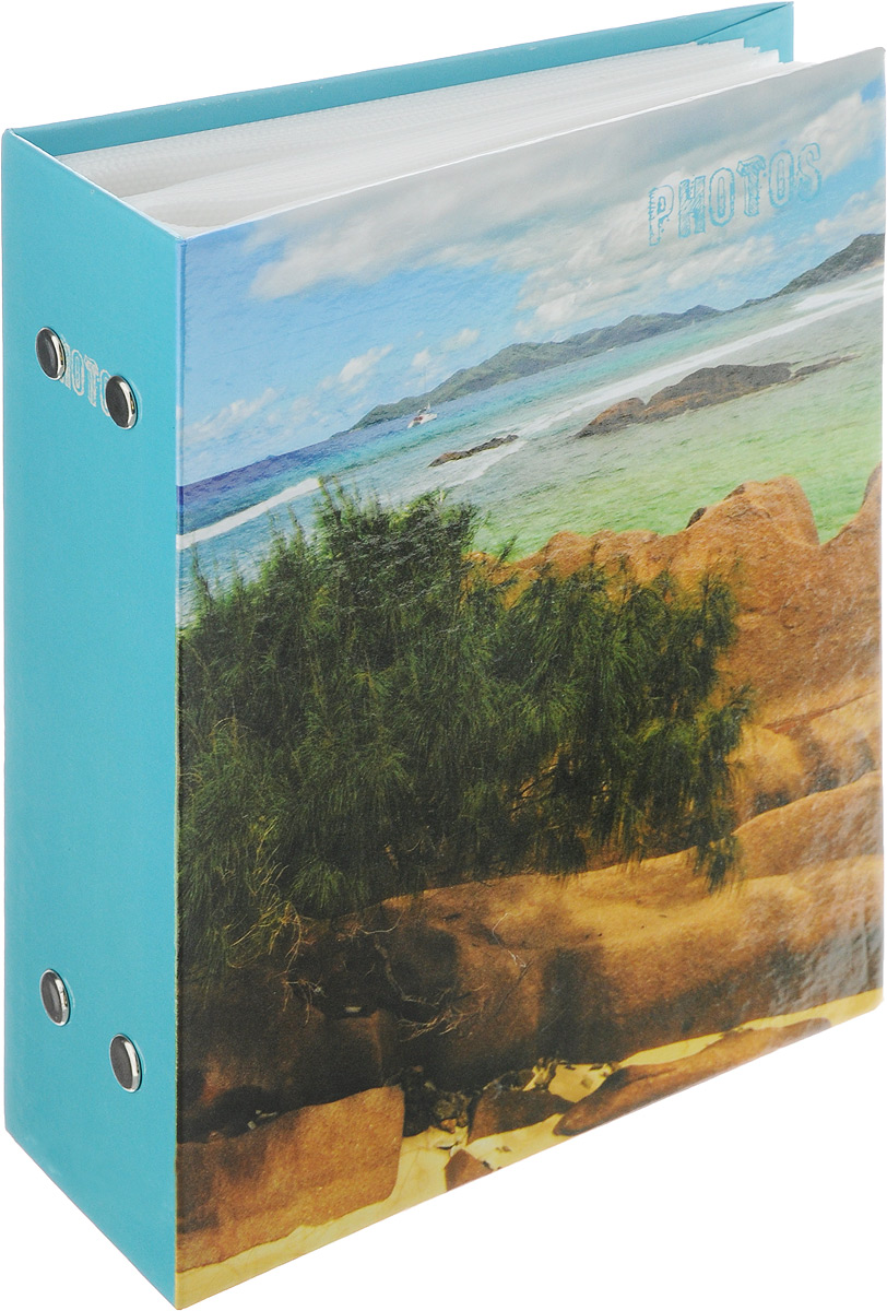 Фотоальбом Pioneer Deep Sea, 100 фотографий, цвет: голубой, зеленый, 10 x 15 см фотоальбом platinum ландшафт 1 200 фотографий 10 х 15 см цвет зеленый голубой коричневый pp 46200s