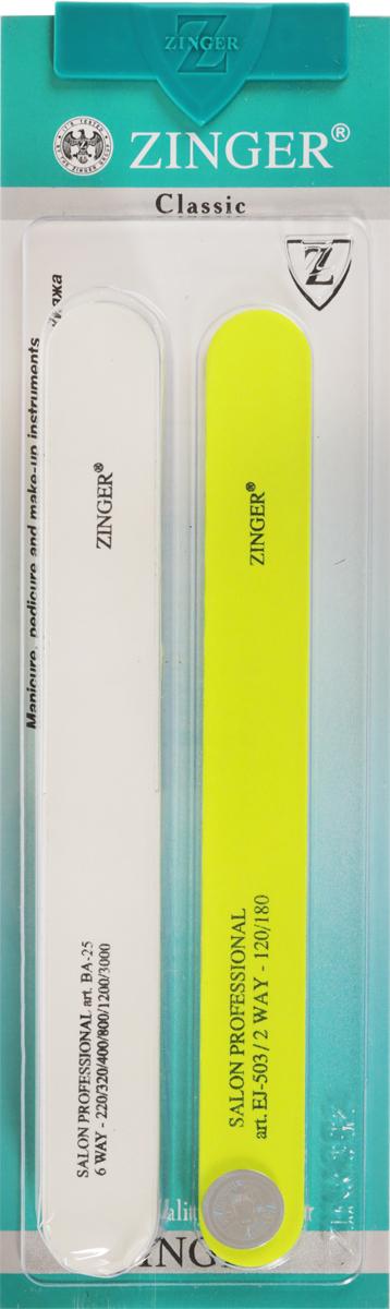 Zinger Набор пилок zo-SIS-23, цвет в ассортименте zinger набор маникюрных инструментов zo sis 43s