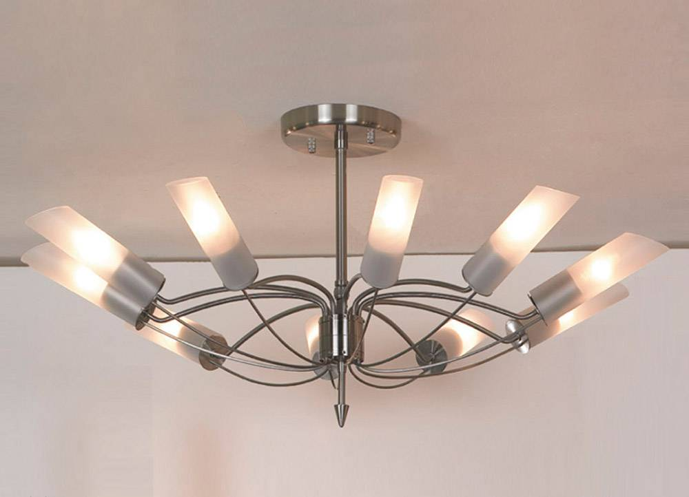 Подвесной светильник Lussole, E14, 480 Вт люстра на штанге lussole lano lsa 2813 10