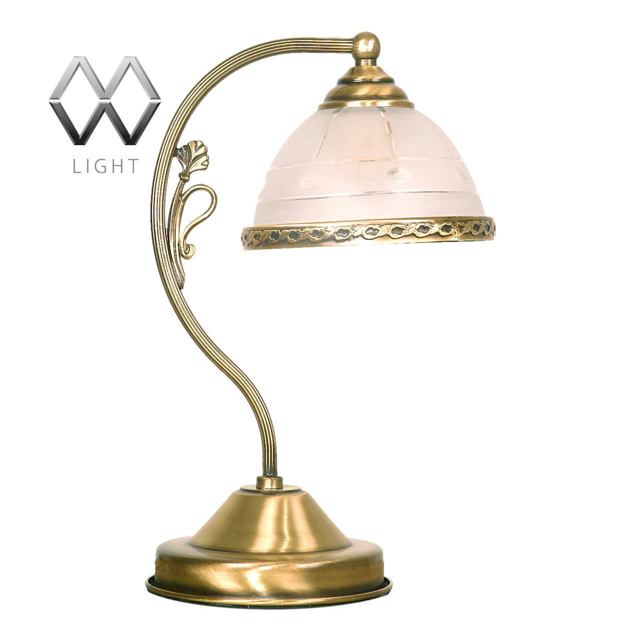 купить Настольная лампа MW-Light Ангел 295031401 по цене 9520 рублей
