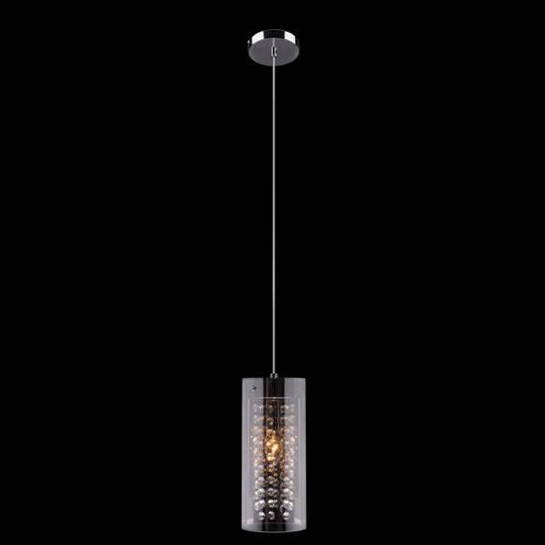 Подвесной светильник Eurosvet 1636/1 хром подвесной светильник eurosvet тоскана 50047 1 коричневый
