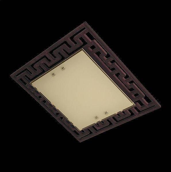 Потолочный светильник Eurosvet 2870/3 хром/венге цена
