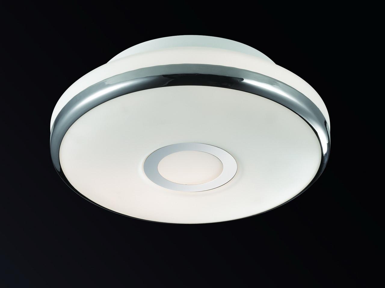 все цены на Потолочный светильник Odeon Light 2401/1C, белый онлайн