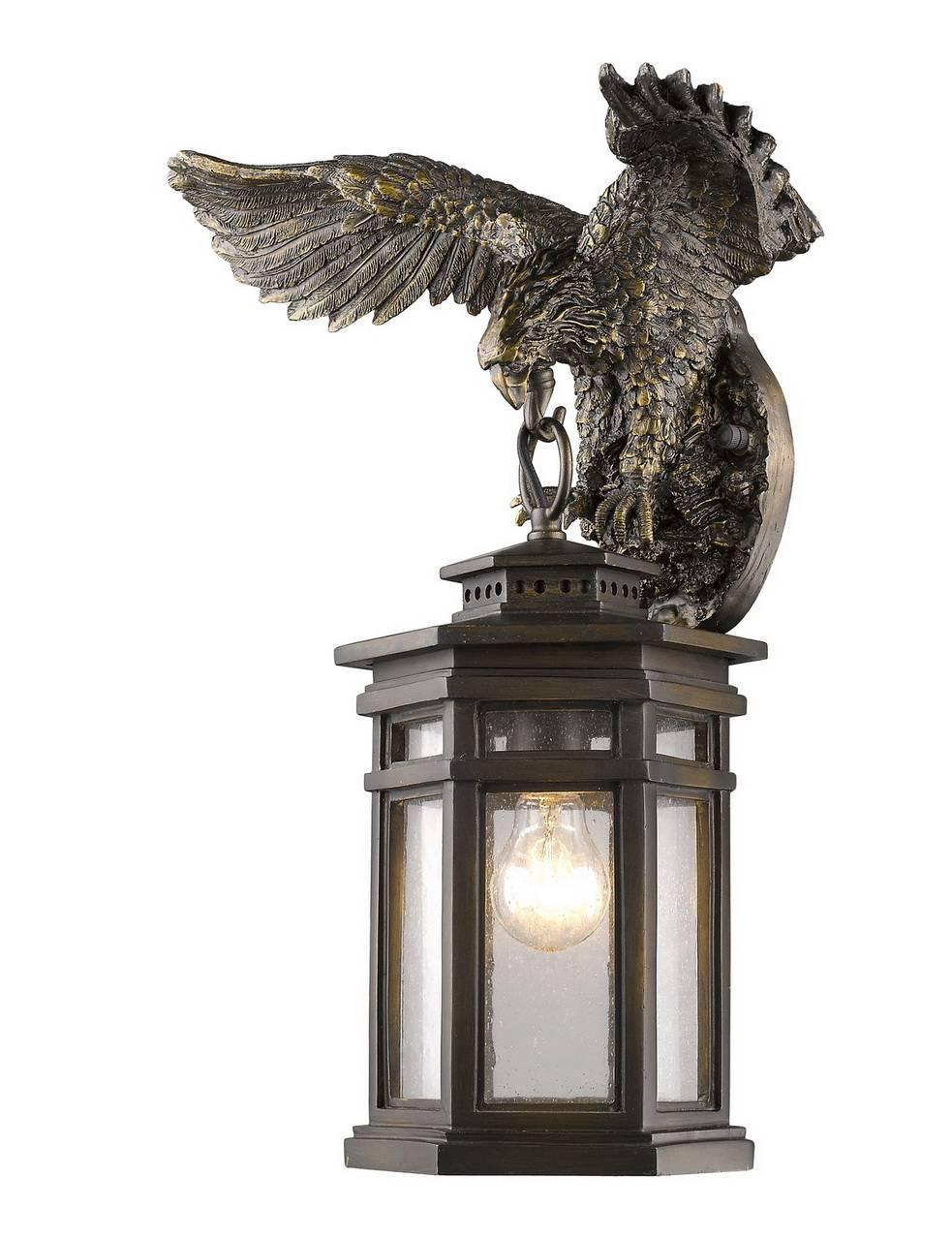 Уличный настенный светильник Favourite Guards 1458-1W цена в Москве и Питере