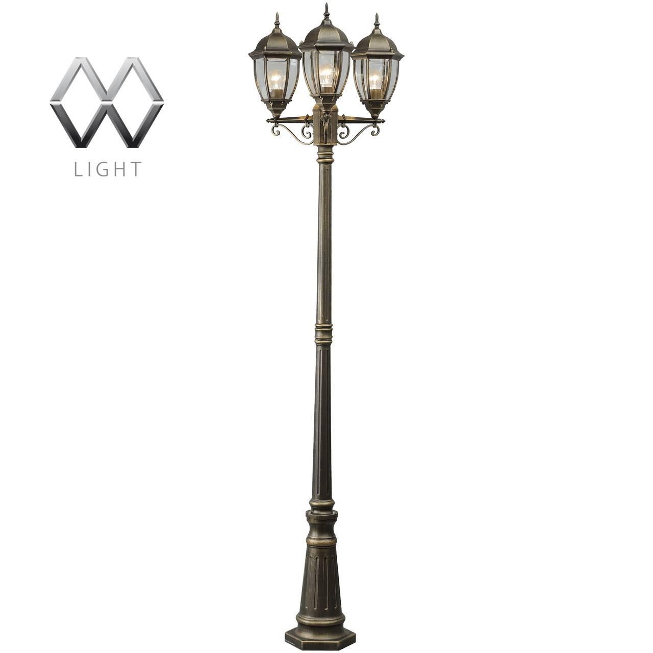 Садово-парковый светильник MW-Light Фабур 804040703