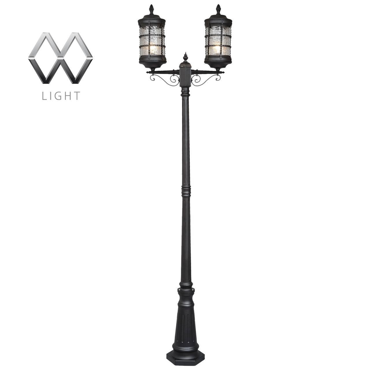 Садово-парковый светильник De Markt Донато 810040602 садово парковый светильник столб 100w e27 230v белый feron 4210 11033
