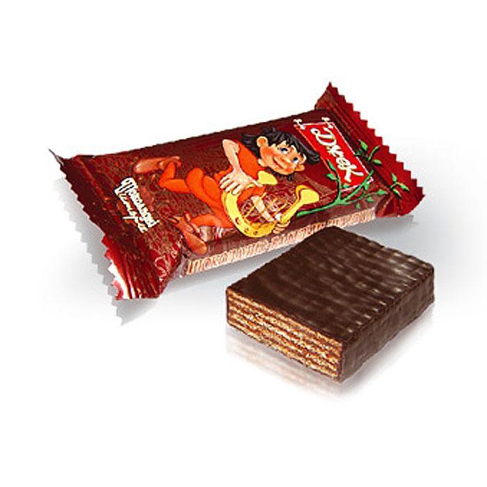 Konti Джек конфеты шоколадные вафельные, 520 г густо хрусто орех конфеты глазированные вафельные 500 г