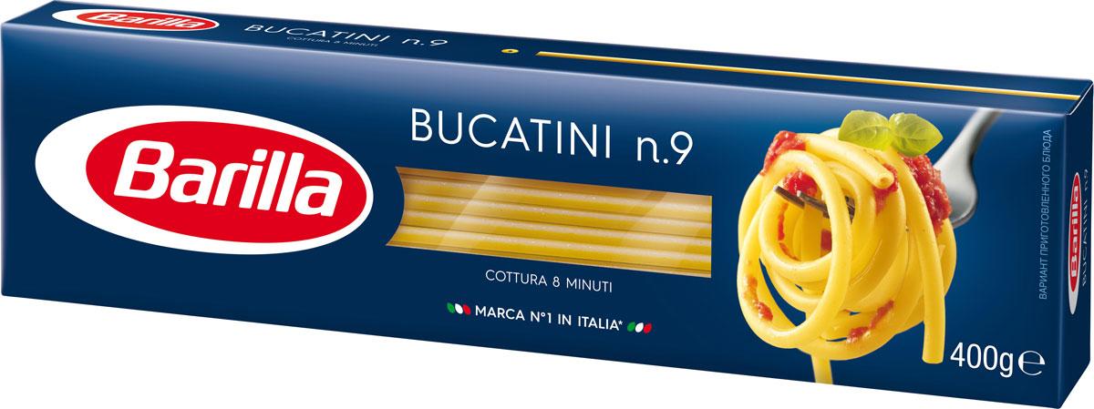 Barilla Bucatini паста букатини, 400 г