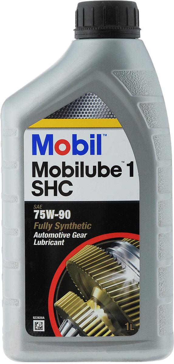 Масло трансмиссионное Mobil Mobilube 1 SHC, класс вязкости 75W-90, 1 л цена