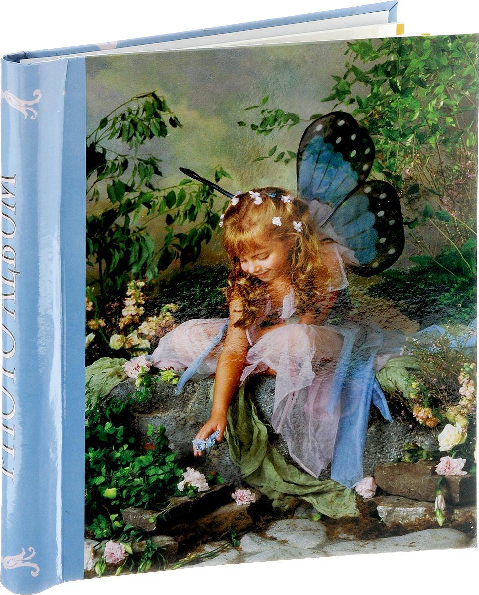 Фотоальбом Pioneer Liza Jane-Fairy, 10 магнитных листов, цвет: голубой, зеленый, 23 х 28 см фотоальбом pioneer disney valentine 20 магнитных листов 29 х 32 см lm sa20bb c