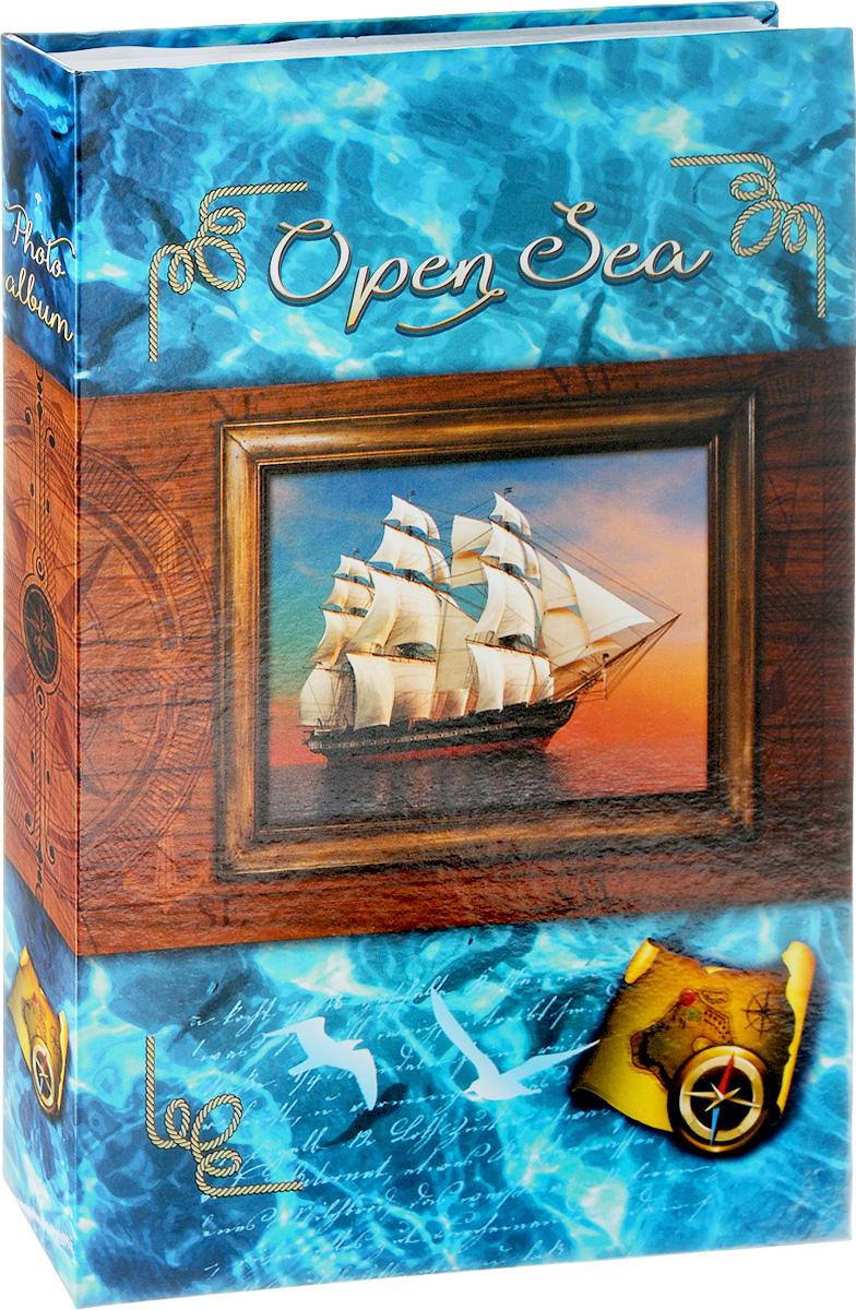 Фотоальбом Pioneer Open Sea, 300 фотографий, цвет: голубой, 10 x 15 см фотоальбом platinum ландшафт 1 200 фотографий 10 х 15 см цвет зеленый голубой коричневый pp 46200s