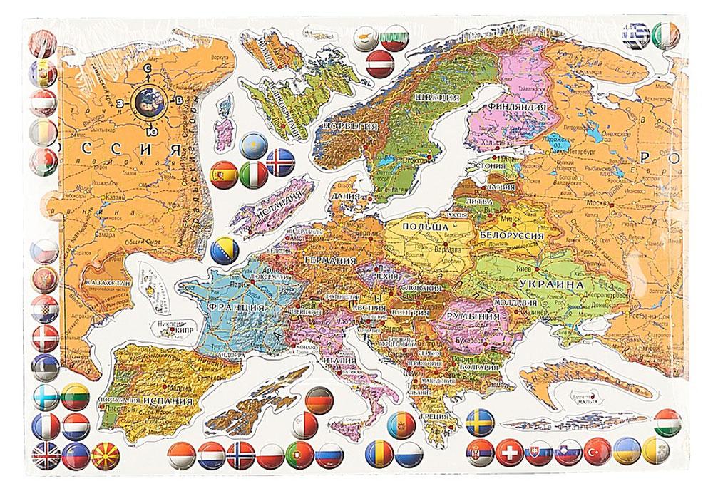 Геоцентр Пазл Карта Европа