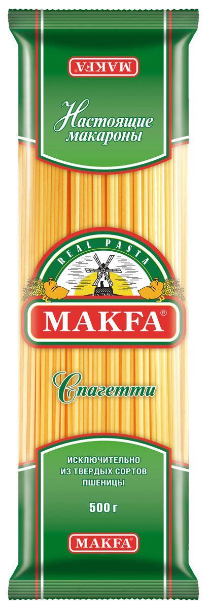 Makfa Любительская вермишель длинная спагетти, 500 г