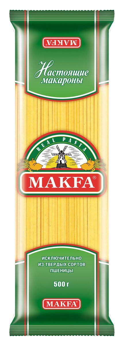 Makfa лапша длинная, 500 г