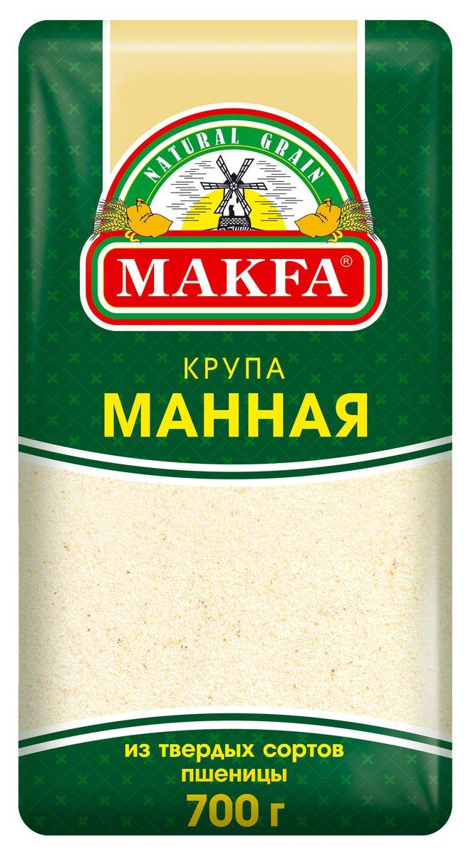 купить Makfa манная крупа, 700 г по цене 95 рублей
