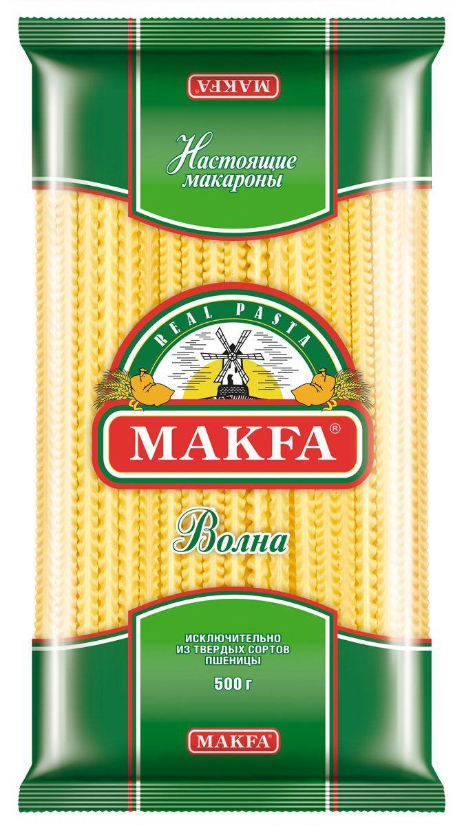 Makfa Волна лапша широкая, 500 г