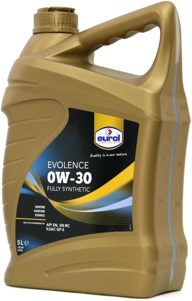 "Масло моторное EUROL ""Evolence"", класс вязкости 0W-30, 5 л"