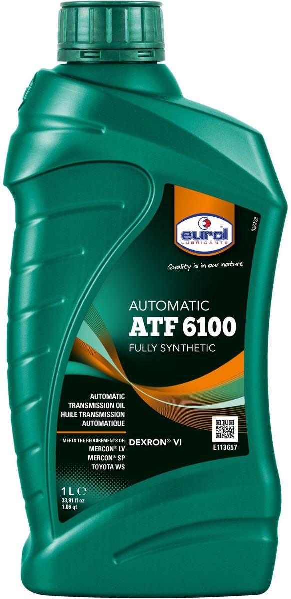 Масло трансмиссионное EUROL ATF 6100 1 л