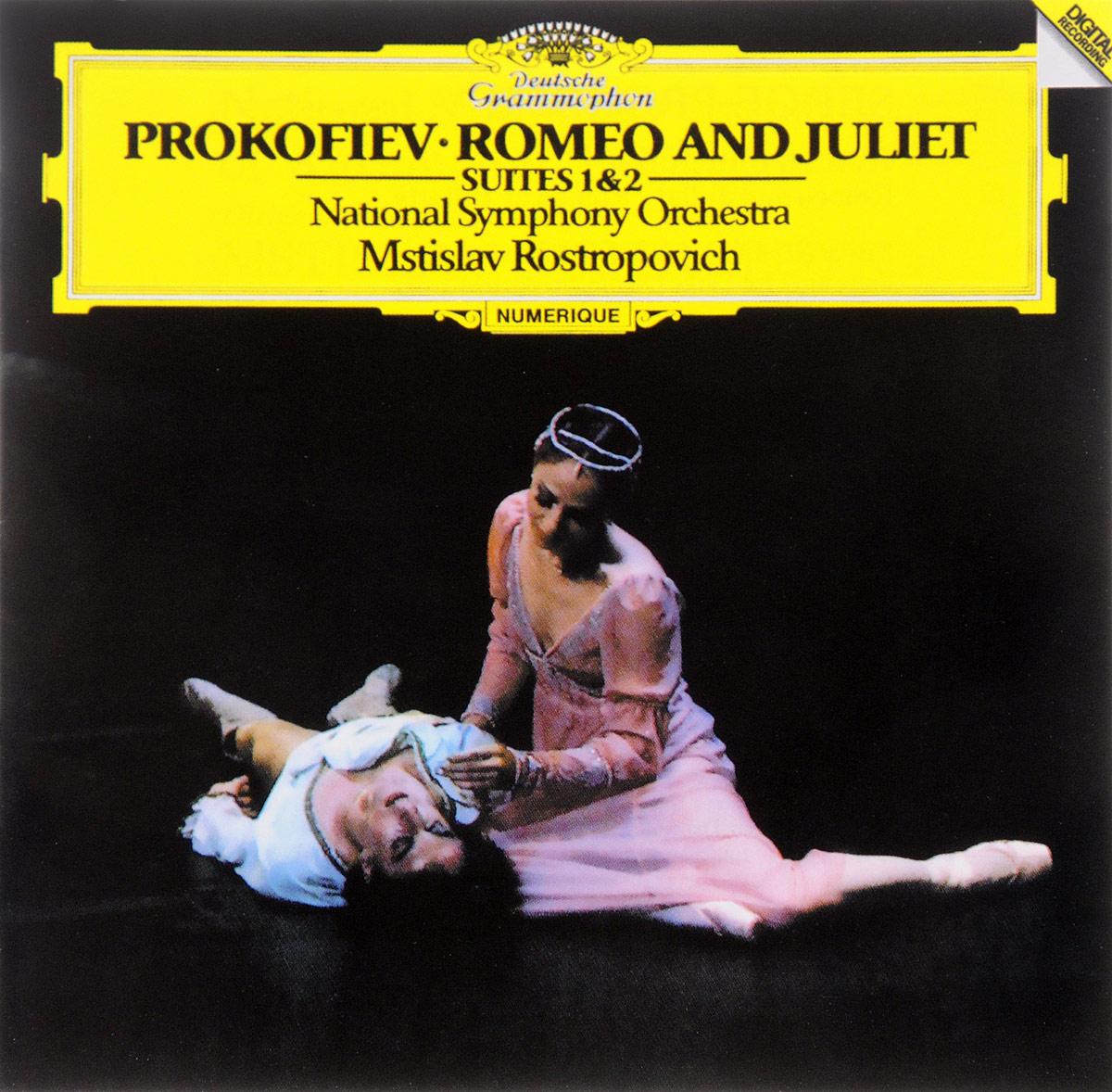 лучшая цена Мстислав Ростропович,National Symphony Orchestra Of Washington Mstislav Rostropovich, National Symphony Orchestra. Prokofiev. Romeo And Juliet. Suites 1 & 2