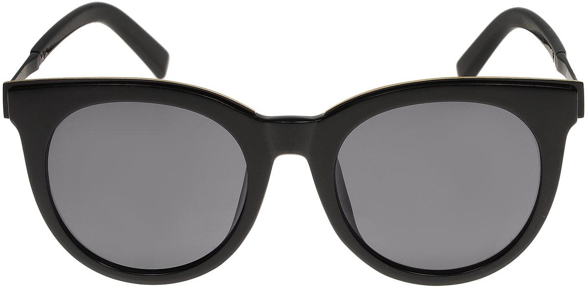 Очки солнцезащитные женские Модные истории, цвет: черный. 7/0024/030 перчатки женские модные истории цвет черный 2 0046 030 размер универсальный