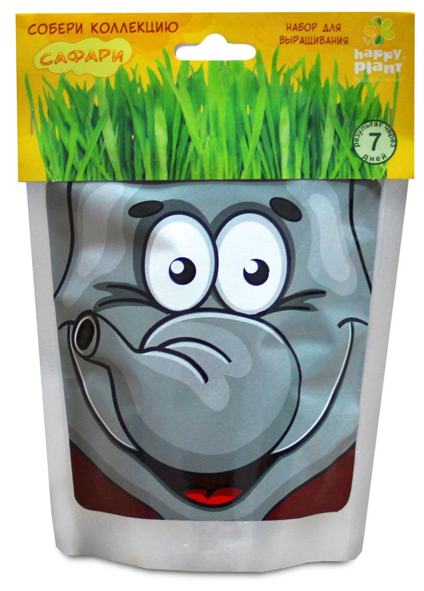 Happy Plant Набор для выращивания Слон бумбарам подарочный набор для выращивания с днем рождения бабочка happy plant