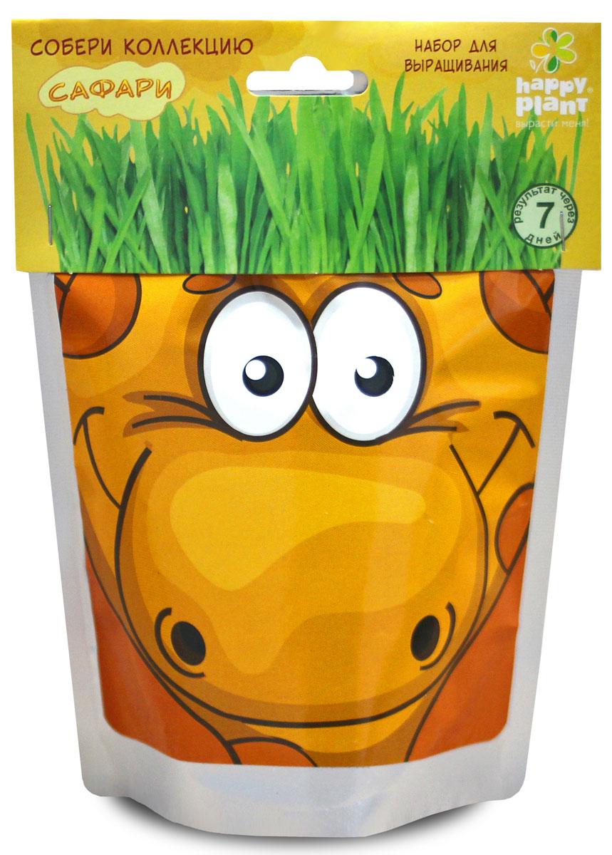 Happy Plant Набор для выращивания Жираф бумбарам подарочный набор для выращивания с днем рождения бабочка happy plant