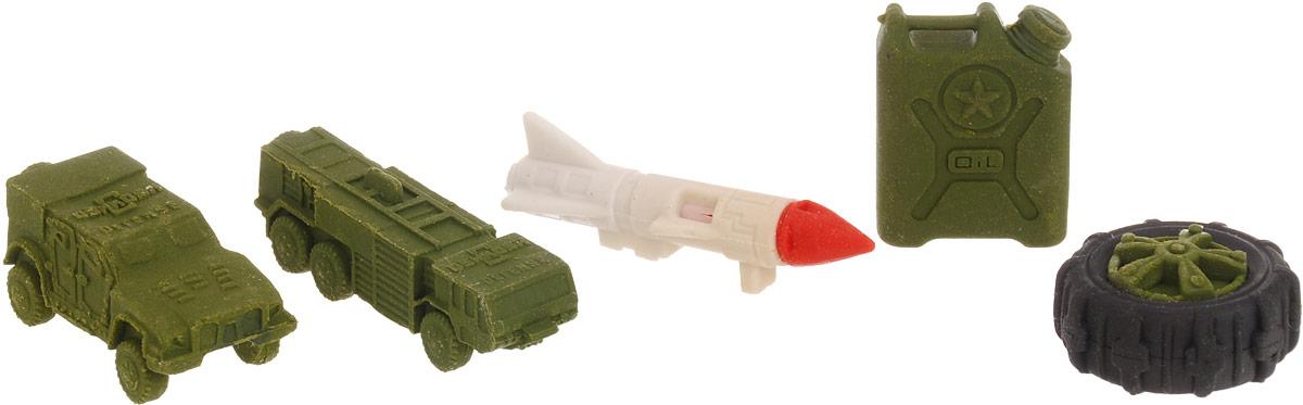 Бумбарам Набор ластиков-пазлов Военная техника 4 шт игровые фигурки veld co набор солдатиков и военная техника