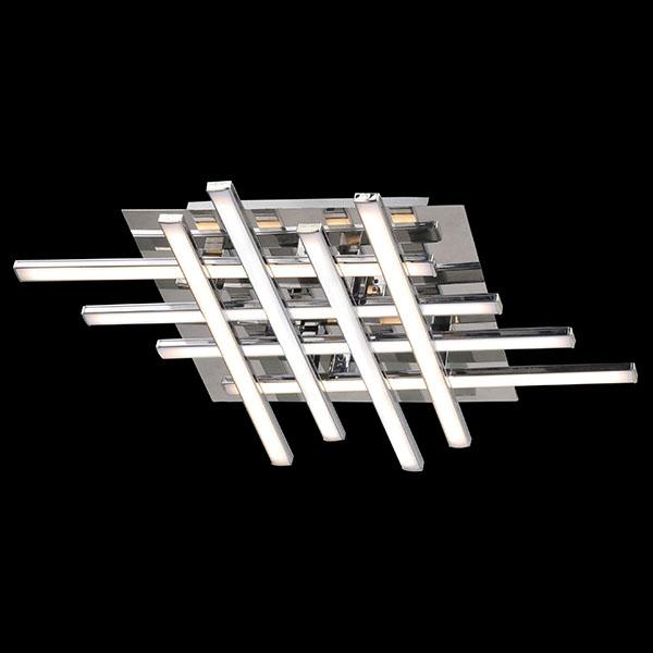 Потолочный светодиодный светильник Eurosvet Хай-Тек 90020/8 хром кухня комфорт хай тек кх 258