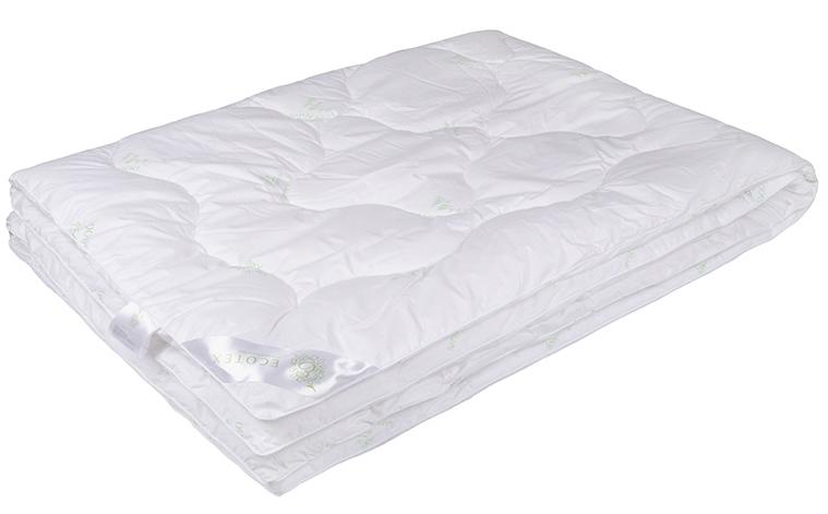 Одеяло Ecotex Бамбук-Премиум, наполнитель: бамбуковое волокно, 140 х 205 см одеяло ившвейстандарт бамбук 140 х 205 см светло бежевый