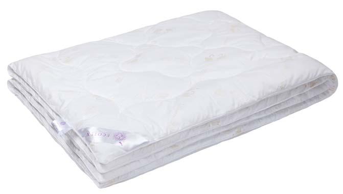 Одеяло Ecotex Премиум Лебяжий пух, наполнитель: синтепух, цвет: белый, 140 х 205 см одеяло свс одеяло кассетное аляска 140 205 см