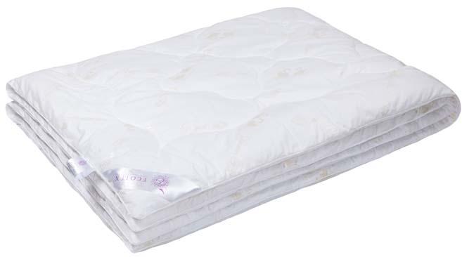 Одеяло Ecotex Премиум Лебяжий пух, наполнитель: синтепух, цвет: белый, 200 х 220 см одеяло relax wool легкое цвет светло бежевый 200 х 220 см