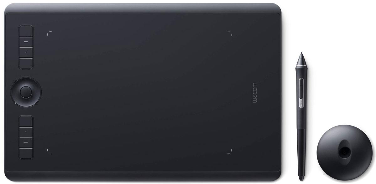 Графический планшет Wacom Intuos Pro Medium (PTH-660-R) и решение для управления цветом wacom eodis3 dcwa wacom x rite