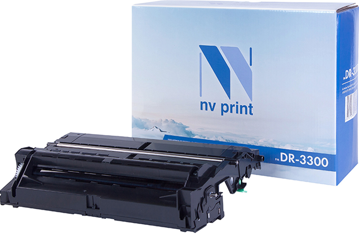 NV Print DR3300, Black фотобарабан для Brother HL5440D/5450DN/5470DW/6180DW/DCP8110/8250/MFC8520/8950 compatible brother tn780 3360 3370 3390 3392 3395 toner cartridge for hl5440d 5445d 5450dn 6180dw mfc8520dn 8515dn 8510dn 8910dw