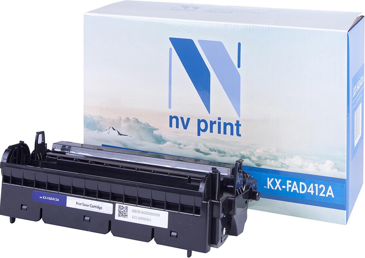 NV Print KX-FAD412А, Black фотобарабан для Panasonic KX-MB2000/KX-MB2020/KX-MB2030