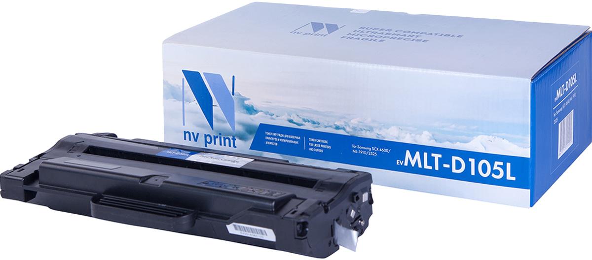 Картридж NV Print MLT-D105L, черный, для лазерного принтера